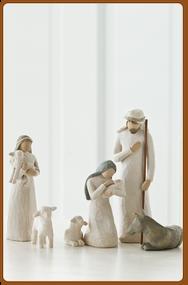 Willow Tree Christmas Nativity Set, 6 Pieces