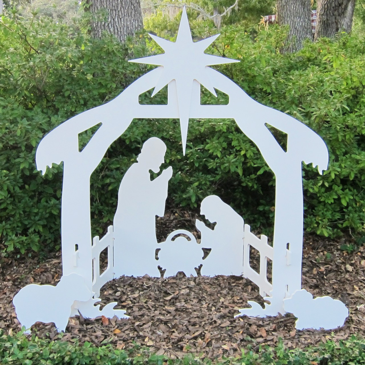 Outdoor Nativity Set Lawn Nativity Scene Large