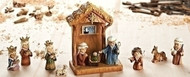 The Children's Nativity Set with Stable.