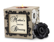 Square Tea Light Holder for a Mother