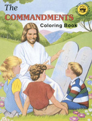 Coloring Book, The Commandments