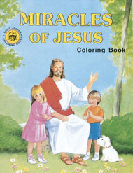 Coloring Book, Miracles of Jesus
