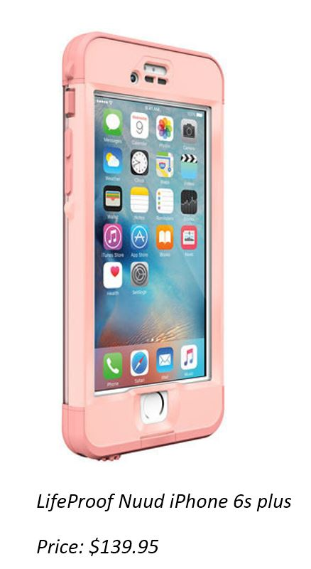 LifeProof NUUD Case iPhone 6S+ Plus - Pink Jelly Fish