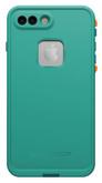 LifeProof FRE Case iPhone 7+ Plus - Light Teal/Maui Blue/Mango Tango