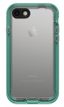 LifeProof NUUD Case iPhone 7 - Soft Mint/Taliside Teal/Clear
