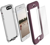 LifeProof NUUD Case with Alpha Glass iPhone 7+ Plus - Purple/Clear