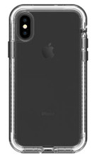 LifeProof NEXT Case iPhone X - Clear/Black