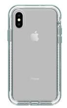 LifeProof NEXT Case iPhone X - Clear/Aquifer