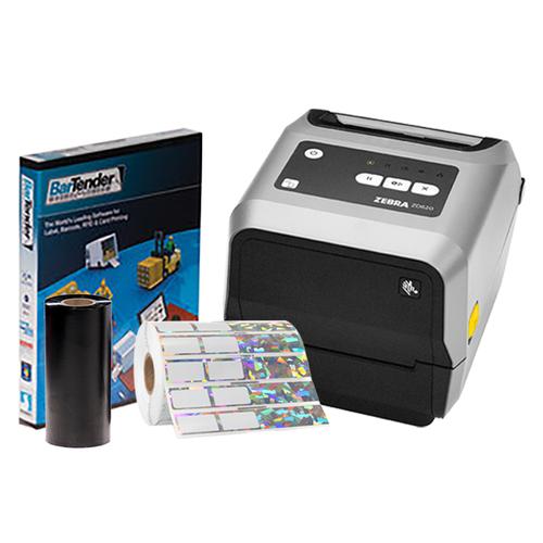 Zebra ZD620t Printing Kit  #BZD6K-31