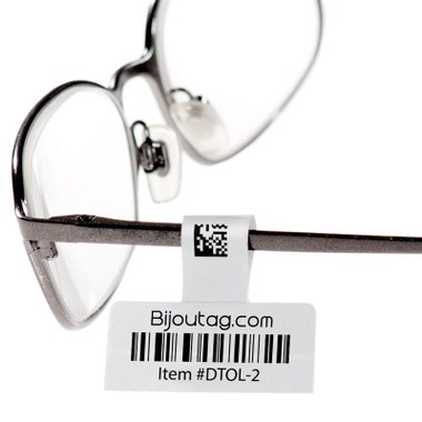 Direct Thermal hang tags for eyeglasses #DTOL-2