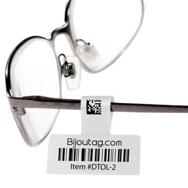 Direct Thermal hang tags for eyeglasses #DTOL-2