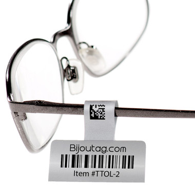 Thermal transfer tags for eyeglasses for inventory control #TTOL-2