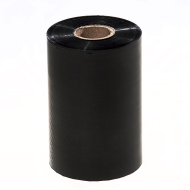WR110X450C1-1iZ4 Black thermal ribbon for eyeglass and jewellery labels