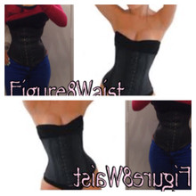 Figure8Waist Full Latex (Comes in Blk, Beige or Leopard)
