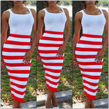 Pencil & Stripes Red