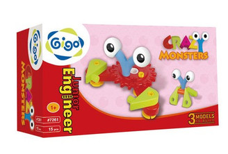 Crazy Monsters 15 Piece Set