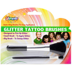 Glimmer Body Art Brushes