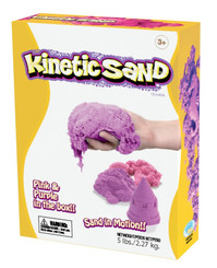 Kinetic Sand Pink and Purple pack
