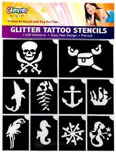 Pirates and Mermaids Stencil Pack