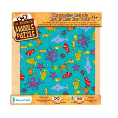 Smaller - Dr Bafflers Muddle Puzzle Sealife 22 PIECE