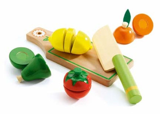 Djeco Wooden Fruit Cutting Set