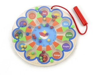 Magnetic Bead Clock