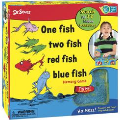 One Fish, Two Fish, Red Fish, Blue Fish Memory Game