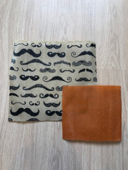 Wax Lunch Wrap - Mustache