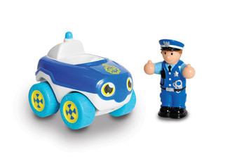 WOW My First Wow Push Along Police Car Bobby