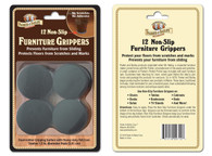 Parker & Bailey Non-Slip Furniture Grippers: 12 Pack