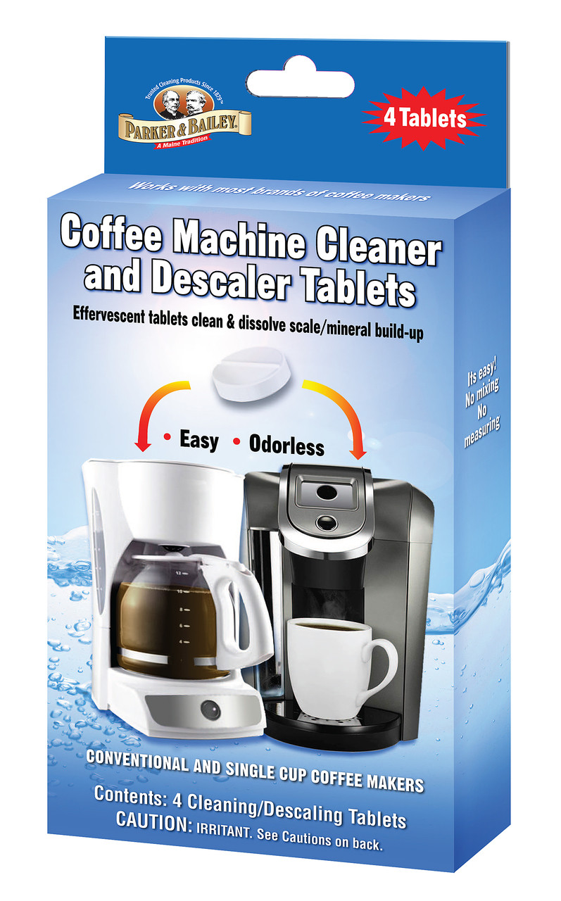 Pleasing Parker Bailey Coffee Machine Cleaner Descaler Tablets Download Free Architecture Designs Scobabritishbridgeorg