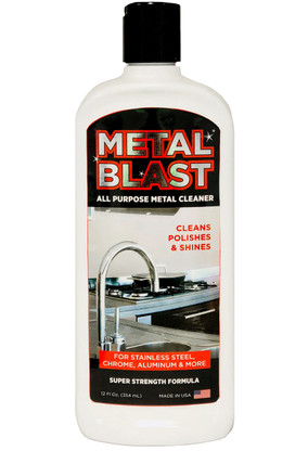 Metal Blast.  All Purpose metal cleaner.  12 oz.