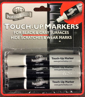 Parker & Bailey Touch-Up Markers for Black & Grey surfaces.  3 Pack.
