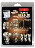 Parker & Bailey Picture Hanging Kit.  Value Pack