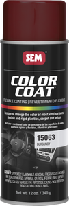 SEM Color Coat Paint - Burgundy 15063