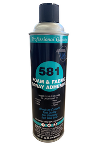 V&S 581 Foam and Fabric Spray Adhesive