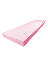 "1"" - A71 Pink High Density Polyurethane Foam (Sheet)"
