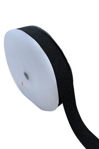 "1"" Black Fastener Sew On - Loop Only/Soft side (50 YD ROLL)"