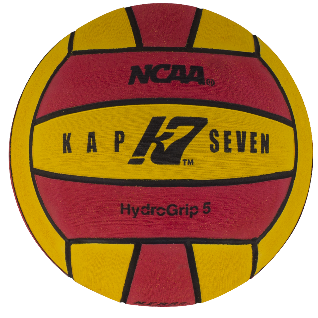 what is a water polo ball made of