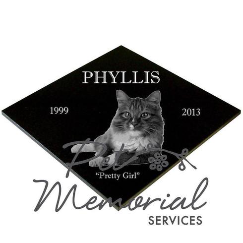 PHYLLIS Pet Memorial marker