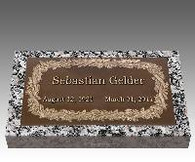 "S-GB723 ""Hawaiian"" Single Bronze over Granite"