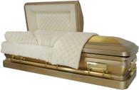 M-8973-FS Solid Bronze casket