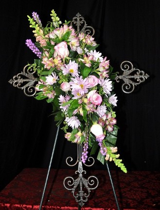 FLORAL CROSS 3