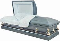M-4212-FS SOFIA  Lt.Blue 20 gauge  non-protective The Ideal casket