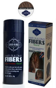 Hair Building Fibers -Medium Brown