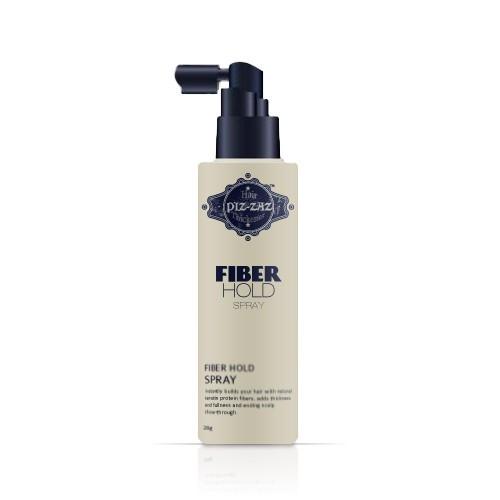 Hair Spray Piz-zaz hair Fibers to secure the fibers with the hair