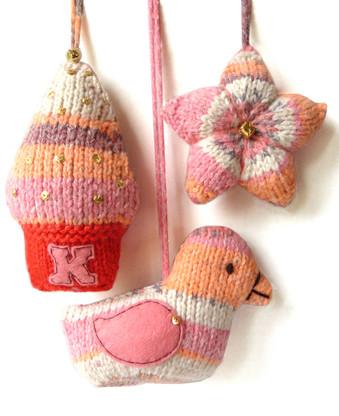 Christmas Tree Decorations Knitting Kit