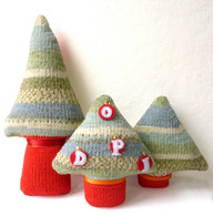 Family Christmas Tree Knitting Kit