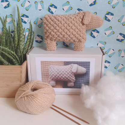 Welsh Mountain Sheep Knitting Kit