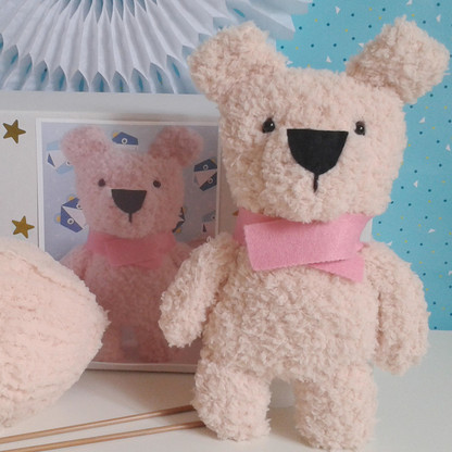 Polar Bear Knitting Kit